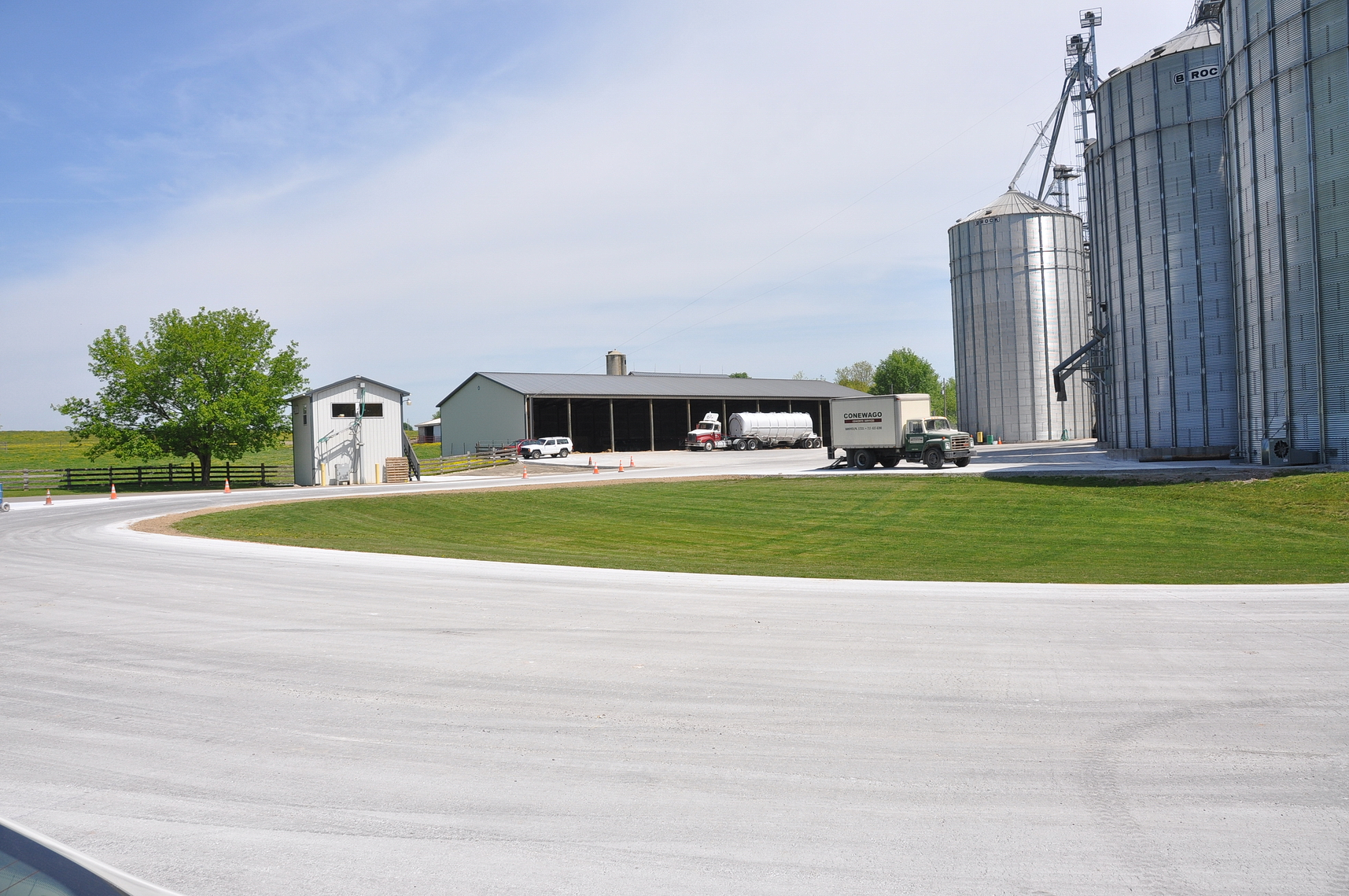 Conewago Manufacturing Ready-Mix Project - AG COM Paving
