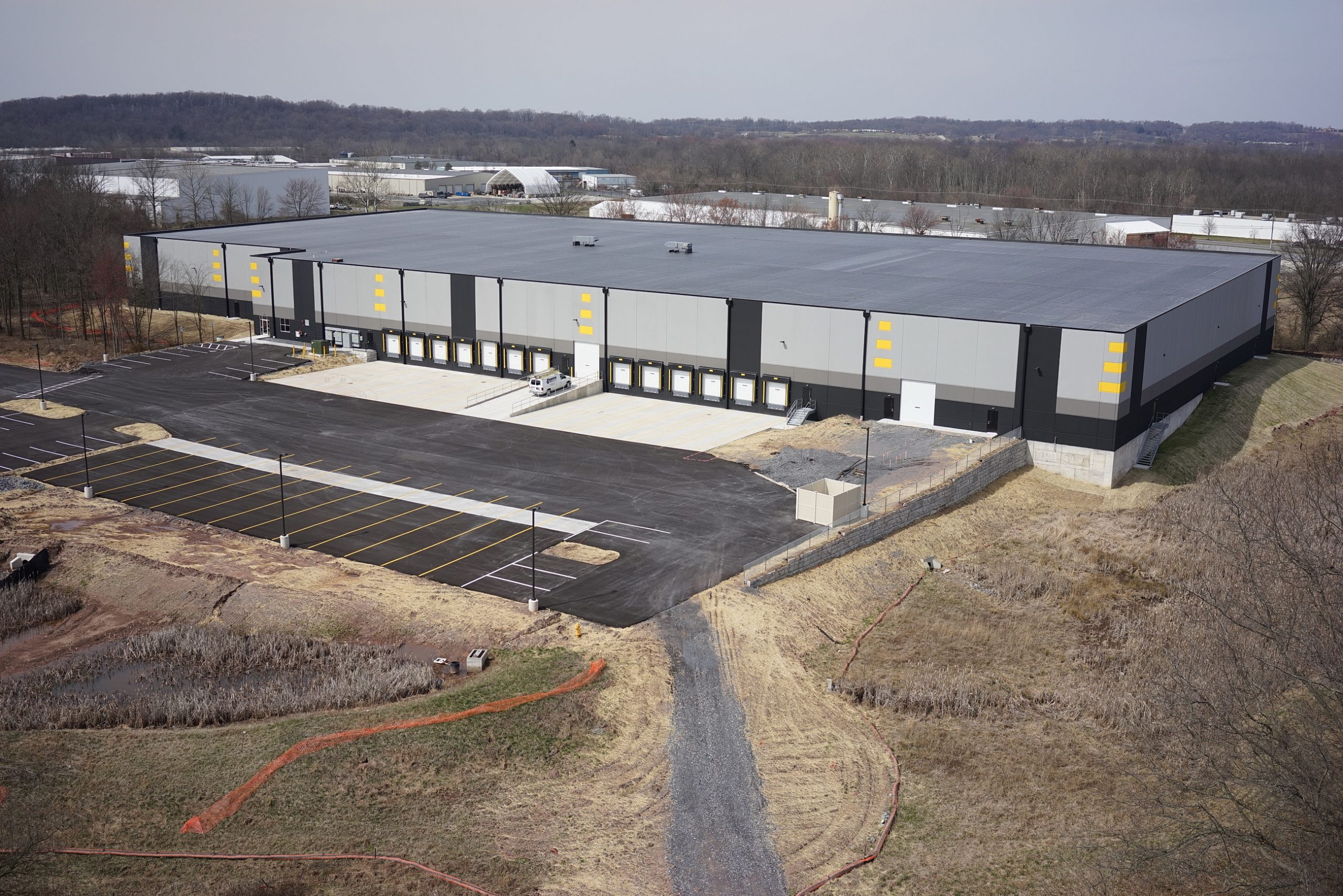 Conewago Manufacturing Steel & Precast Erection Project - Foxfield Ventures