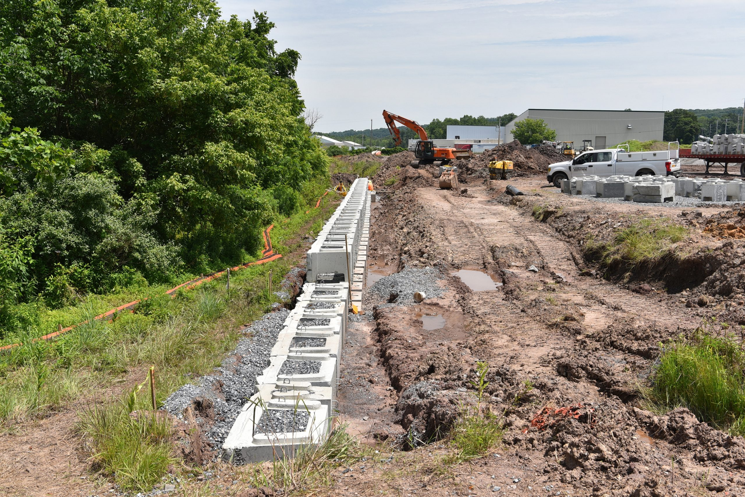 Conewago Manufacturing Verti-Block Project - Foxfield Ventures
