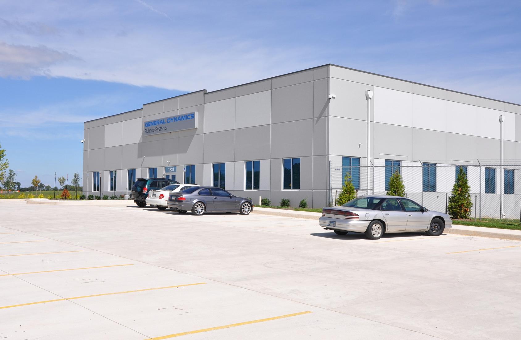 Conewago Manufacturing Precast Concrete Project - General Dynamics