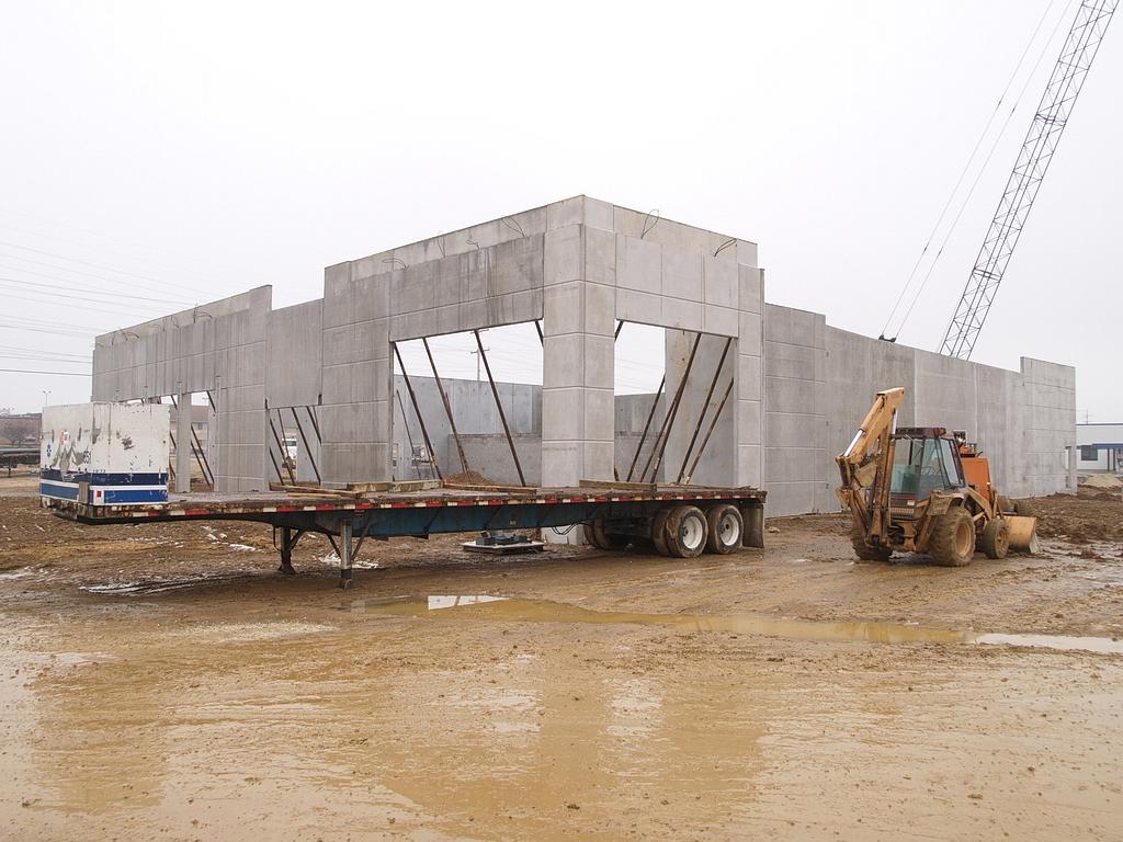 Conewago Manufacturing Precast Concrete Project - Hanover Honda