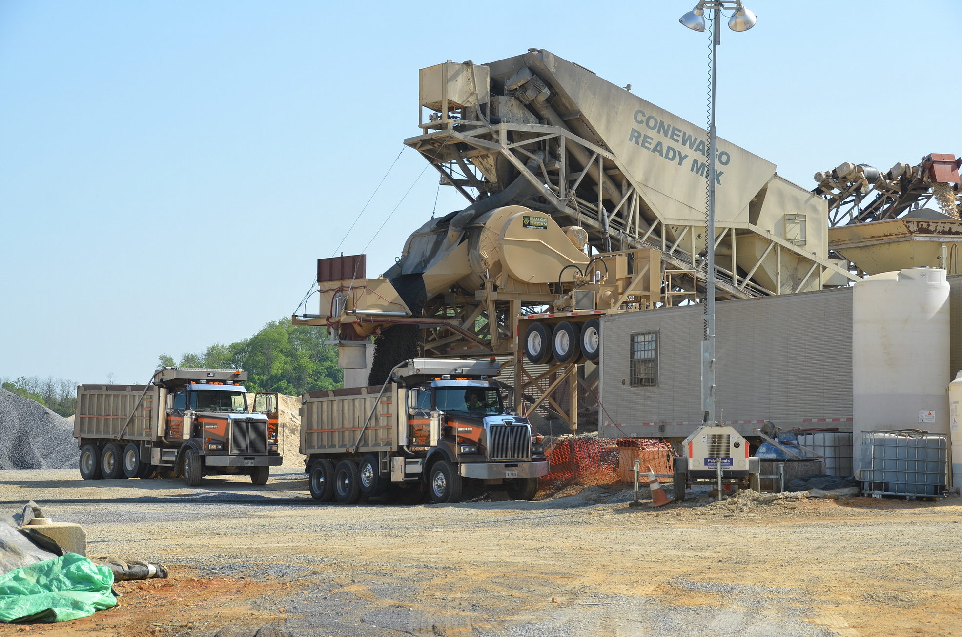 Conewago Manufacturing Mobile Ready-Mix Project - Liberty Property Trust – Project Stella, Shippensburg, PA