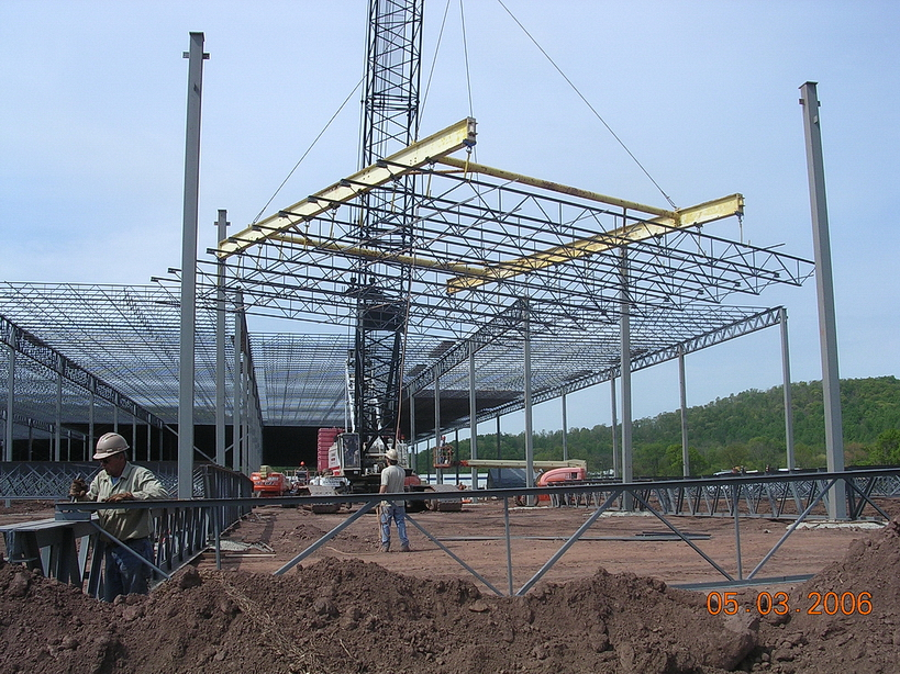 Conewago Manufacturing Steel Project - Liberty Property Trust, Lewisberry, PA