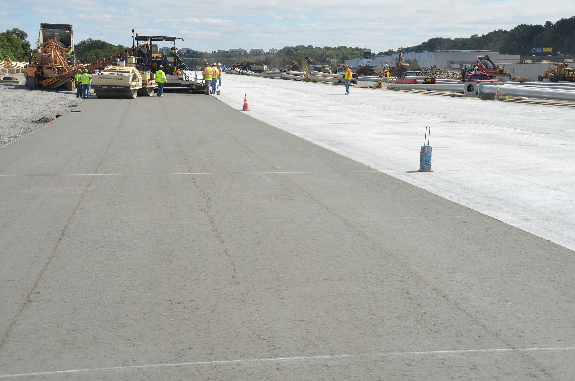Conewago Manufacturing Mobile Ready-Mix Project - Roller Compacted Concrete (RCC) – Norfolk Southern Intermodal