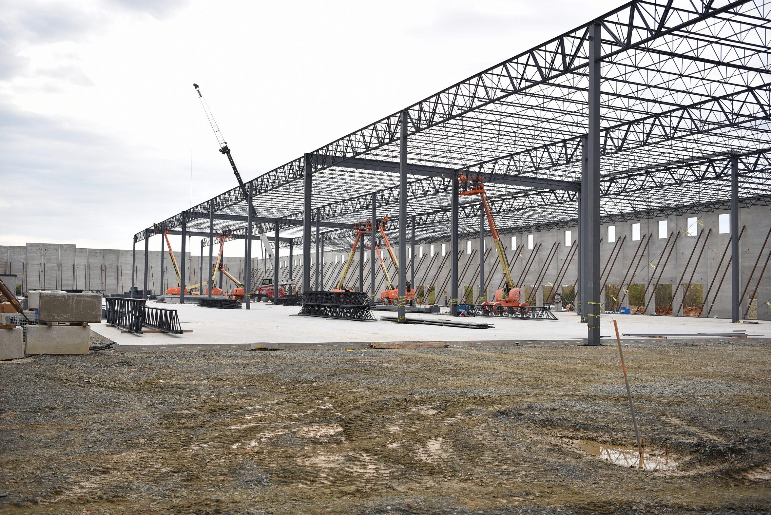 Conewago Manufacturing Steel/Precast Erector Project - Nottingham Ridge - Atapco