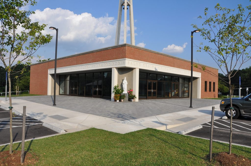 Conewago Precast Concrete Project - Queen of Apostles