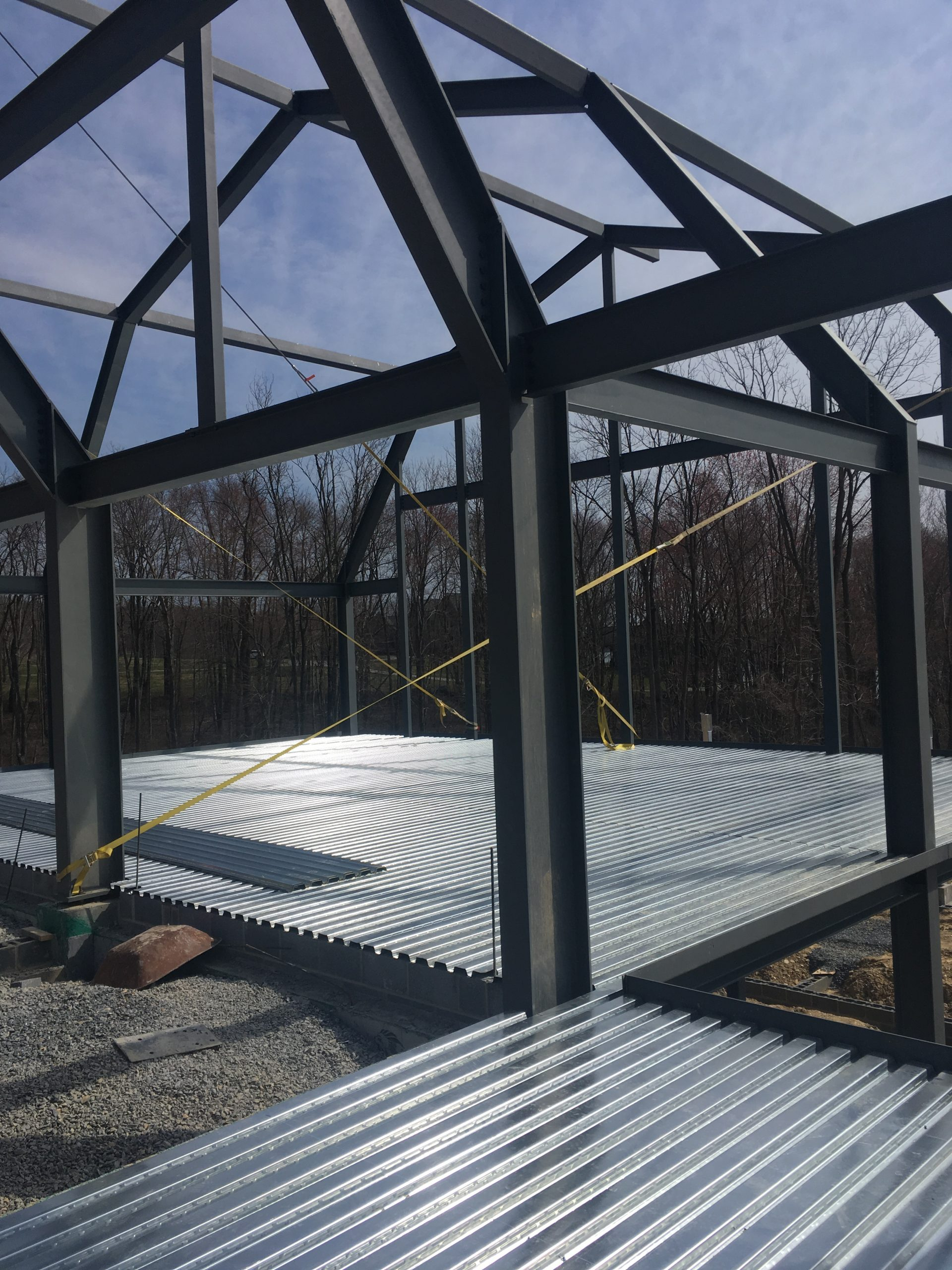 Conewago Manufacturing Steel Project - Residential Barn