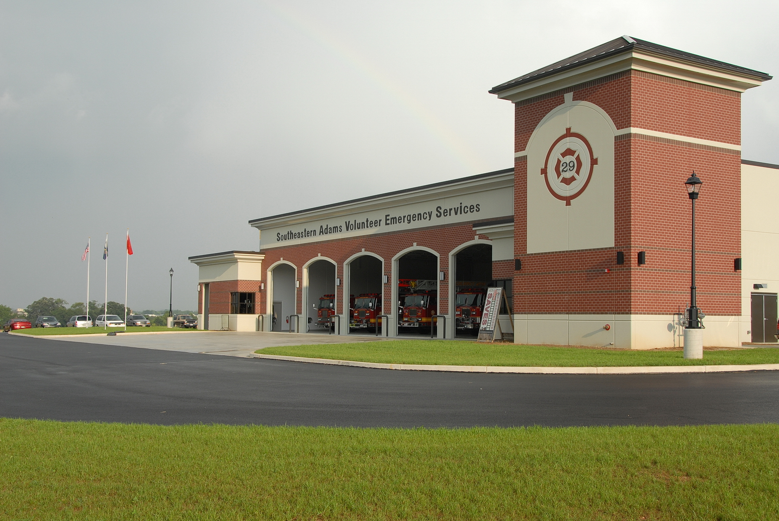 Conewago Manufacturing Steel & Precast Erectors Project - SAVES Fire Station