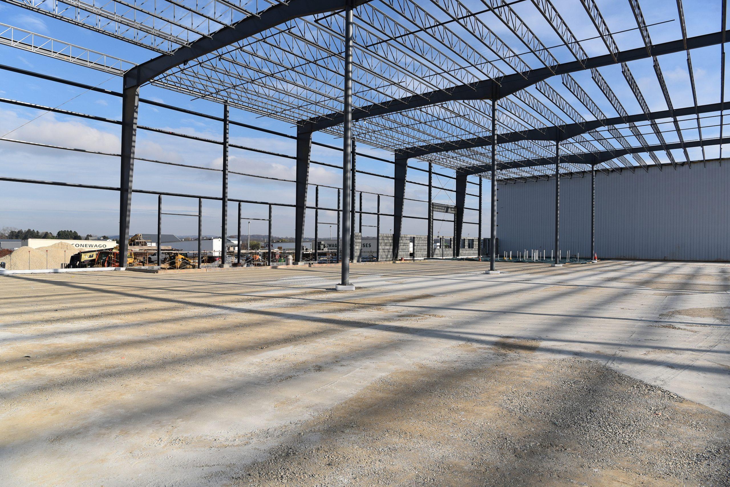 Conewago Manufacturing Steel Project - Schindler Elevator