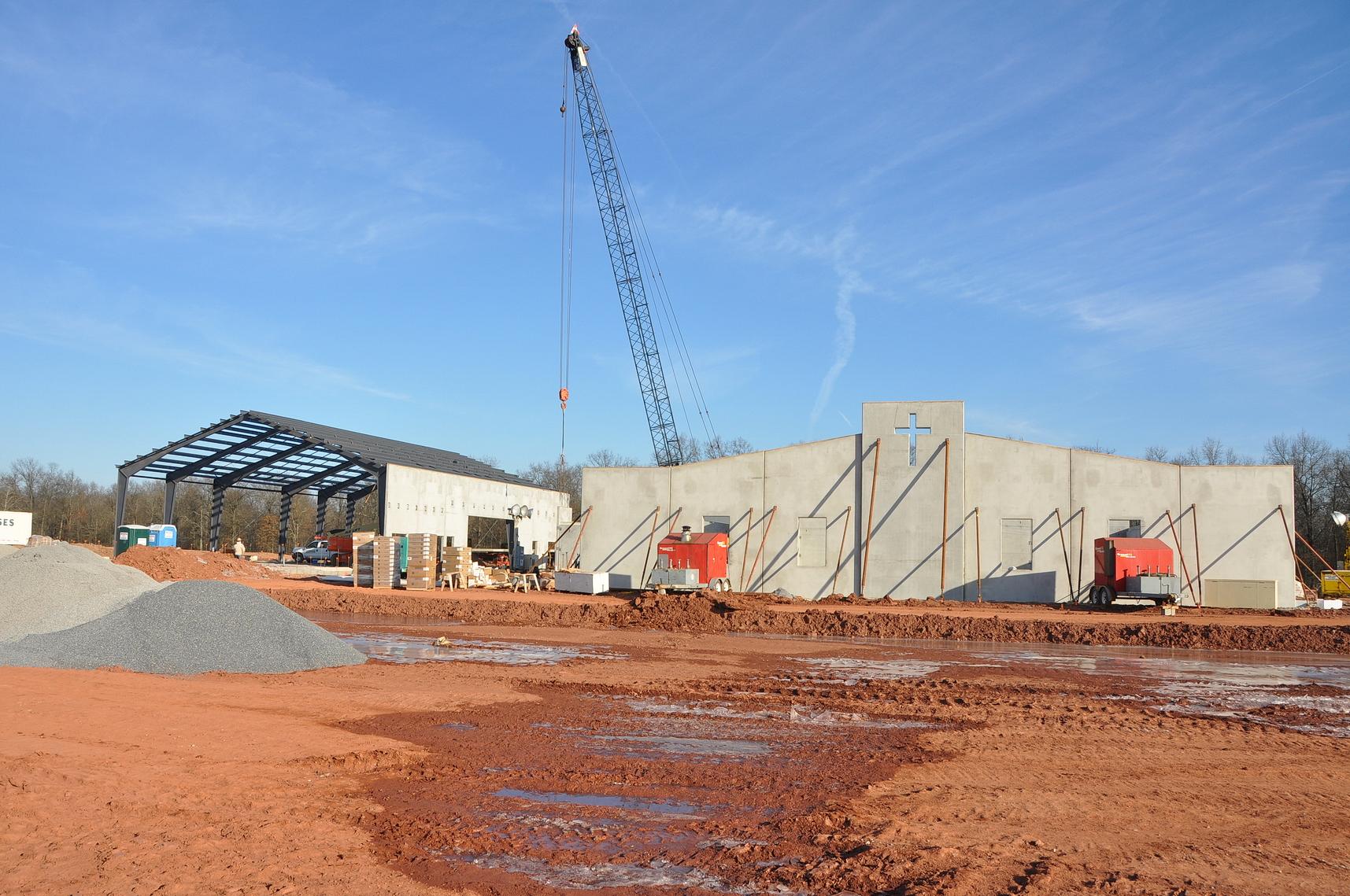 Conewago Manufacturing Steel & Precast Erectors Project - St. Francis Xavier Elementary School