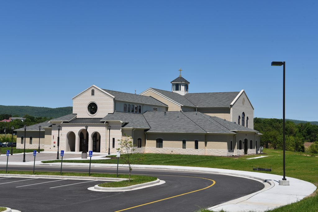 Conewago Manufacturing Steel Project - St. Katharine's Church