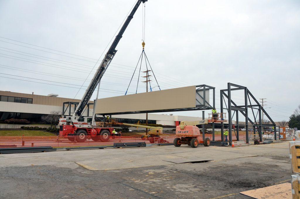 Conewago Manufacturing Steel Project - UTZ Bridge, Hanover, PA