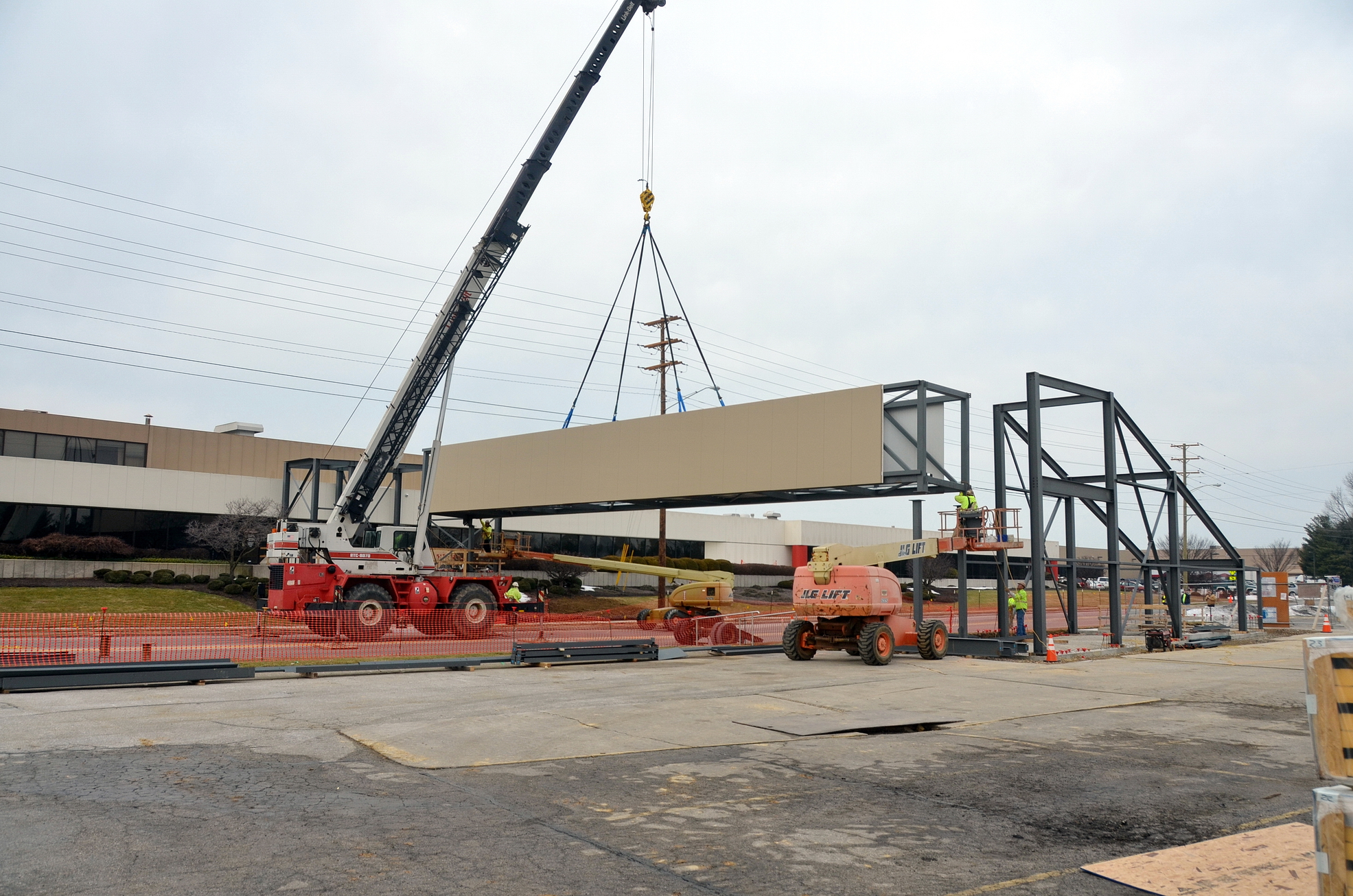 Conewago Manufacturing Steel Project - UTZ Bridge, Hanover, PA